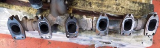 Truck Parts - DAF CF Exhaust manifold