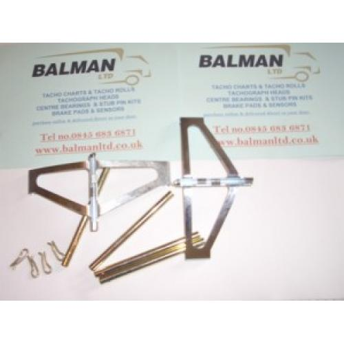 Truck Parts - Brake Pad Fitting Kit